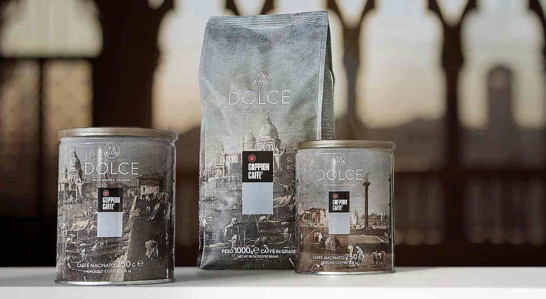DOLCE goppion caffe talianska kava