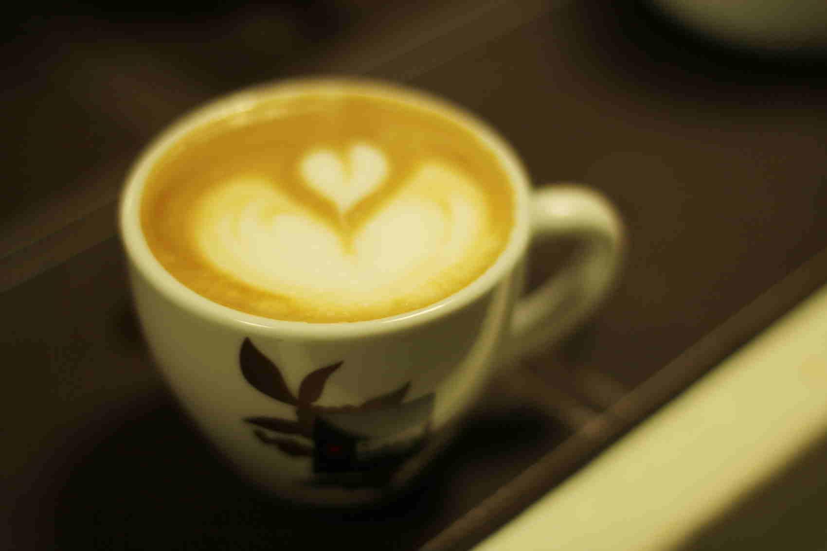 latte art goppion caffe talianska kava